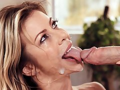 No fucking, just good old blowjob on the son's cock