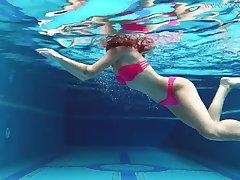 Uber-Cute gal, Tiffany Tatum went swimming with Masturbate and milked ensue to someone's skin swimming pool