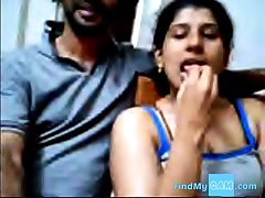 Ajay and Raveena Indian webcam hang on