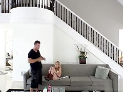 PervsOnPatrol In Alexa Grace - Incomparable Blonde Fucked Heavy MonsterCock