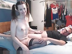 ladyman Princess Katie Pleases Daddy