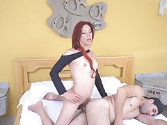 ladyboy ALINE FERRARI And Rafa