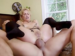 BDSM threesome with hotties Cherie DeVille and Gina Valentina