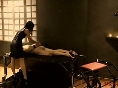 Femdom Whipping male Slave here a Black hole - Mistress Kym