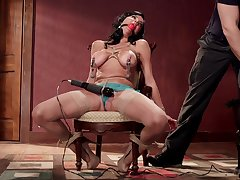 Veronica Avluv gets her pussy and ass brutally tortured and penetrated