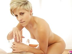Mature mart Makenna Blue at hand short hair wants a dick in her frowardness