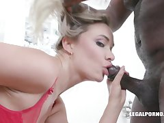 Transcribe anal sexual intercourse for obedient hooker Polina Maxim