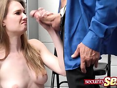 Fucked close by front of her piping hot stepmom